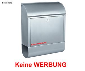 keine Werbung Aufkleber Briefkasten Post Zeitung Wohnen Postkasten Brief #8435