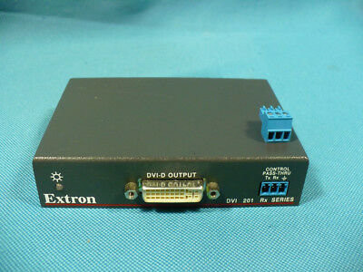 Cameras & Photo Energetic Extron E22410 Dvi 201 Rx Receiver Twisted Pair Receiver Pleasant In After-Taste Audio For Video