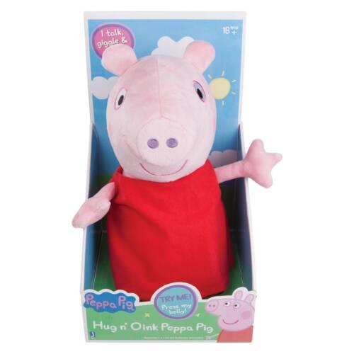 PEPPA PIG Talking Peppa 4 Fun Phrases Plush Toy 18 mois
