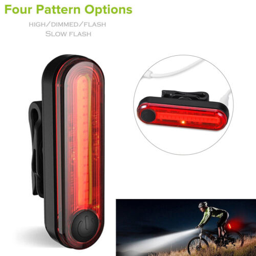 Bike Bicycle Lights USB LED Rechargeable Mountain Cycle Front Back Headlight RF