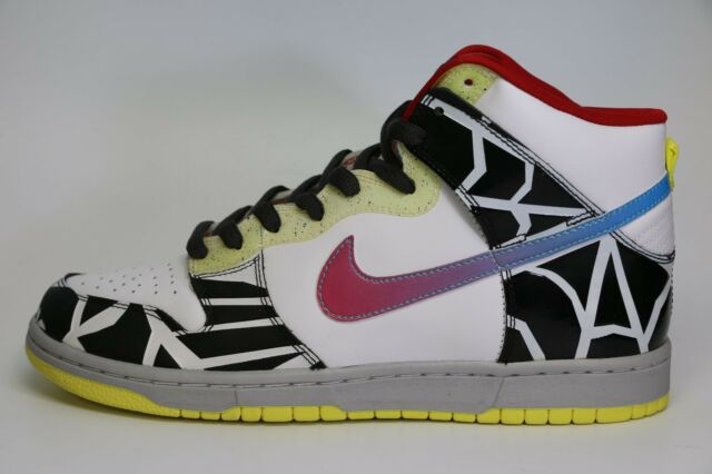the best attitude 45e6c 5246c Nike Dunk High Premium Sz 10 White/chlorine Blue Thrashin SB