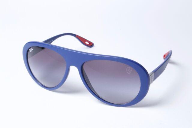 9cae5a0f02 Ray-Ban Ferarri RB4310M F604 8G Blue Grey Gradient Sunglasses 59mm Non  Polarized