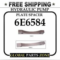 Hydraulic Pump Plate Spacer For Caterpillar 6e6584 6e-6584 Free Delivery