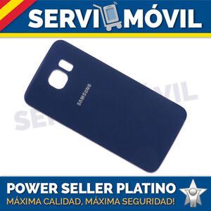 Tapa-Bateria-para-Samsung-Galaxy-S6-SM-G920F-AZUL-Carcasa-Bateria-g920-ADHESIVO