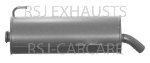 EXHAUST SILENCER PEUGEOT 206 Hatchback 2A//C 1.9 D Diesel 1998-09-/> 2001-11
