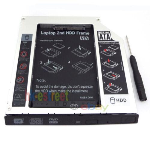 2nd SATA Hard Drive caddy Adapter for Panasonic Toughbook CF-28 CF-30