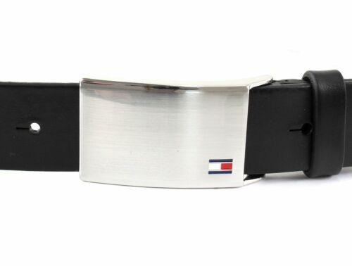 Tommy Hilfiger Th plaques Belt 3.5 w100 Ceinture Accessoire Black Noir Neuf