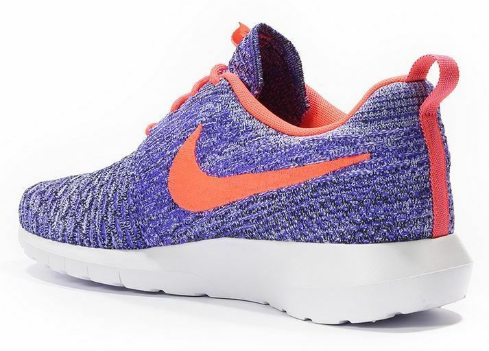 Nike Rosherun Flyknit violet/hot Gr 38,5 39 persian violet/hot Flyknit lava/Weiß 677243 500 b517aa