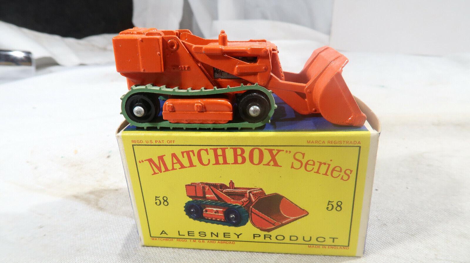 Matchbox BOXED No 58 Dredt Excavator