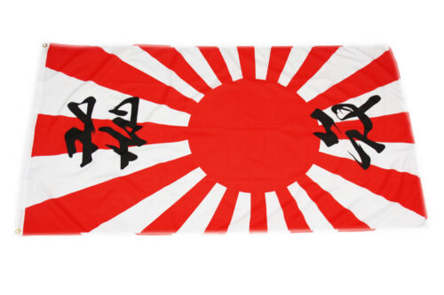 Flagge Fahne Japan Landesflagge Japanische Sonne Kamikaze 90 x 150 cm wetterfe