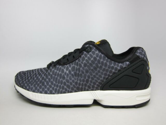 the latest 0bd4c 4eb41 NEW MEN'S ADIDAS ORIGINALS ZX FLUX DECON [B23724] CLEAR ONIX//BLACK-COLL  GOLD