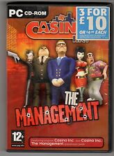 (GW104) Casino: The Management - 2003 Game CD