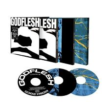 "Godflesh ""Godflesh / Selfless / Us And Them"" 3CD Box Set - NEW!"