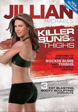 JILLIAN MICHAELS KILLER BUNS & THIGHS EXERCISE DVD NEW SEALED WORKOUT FITNESS