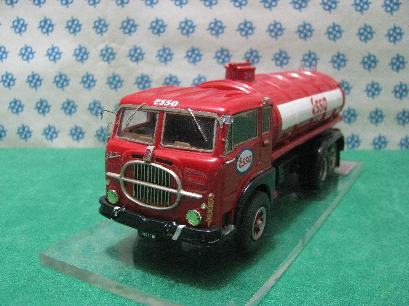 A FIAT 682 N2 Cisterna Cisterna Cisterna ESSO - 1 43 - CB Modelli ( Gila Modelli - Elite Models ) 15f20f