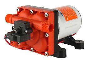 SEAFLO 12V 4.0 GPM Water Pump RV Boat Variable Flow Bypass Valve Reduces Cycling