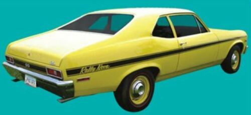 1970 NOVA Rally Special Stripes 1//43rd Scale Slot Car Waterslide Decals