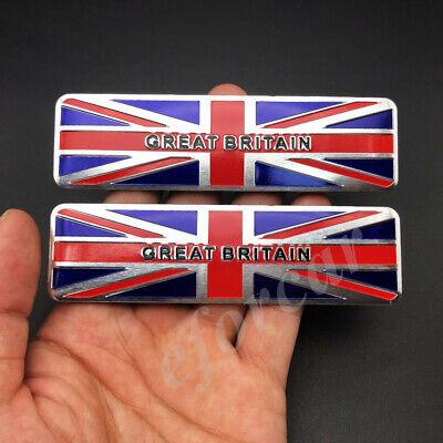 The Union Jack UK Flag Car Trunk Emblem Badge Motorcycle Fuel Gas Tank Sticker