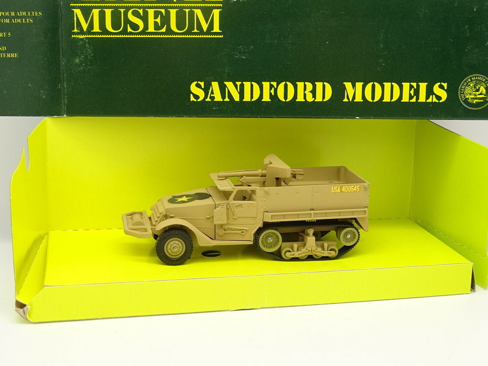Verem Militar Sandford Tank (tanque) Museo  Half Track 75mm Canon North