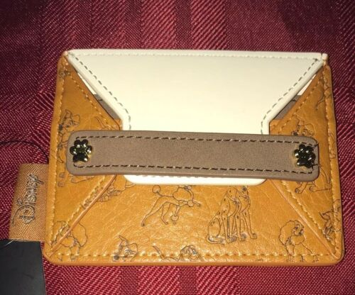 Details about  /Disney Loungefly Dogs Lady and the Tramp 101 Dalmatians Cardholder NEW