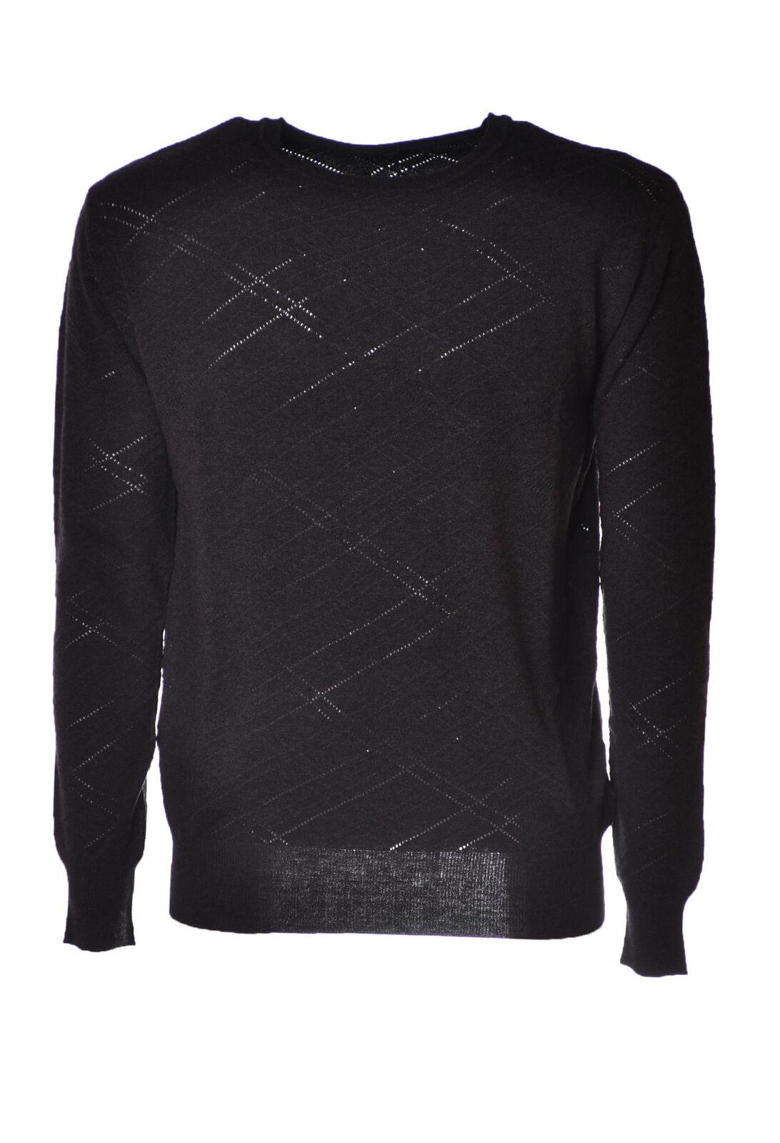Hosio  -  Sweaters - Male - Grau - 4392825A184452