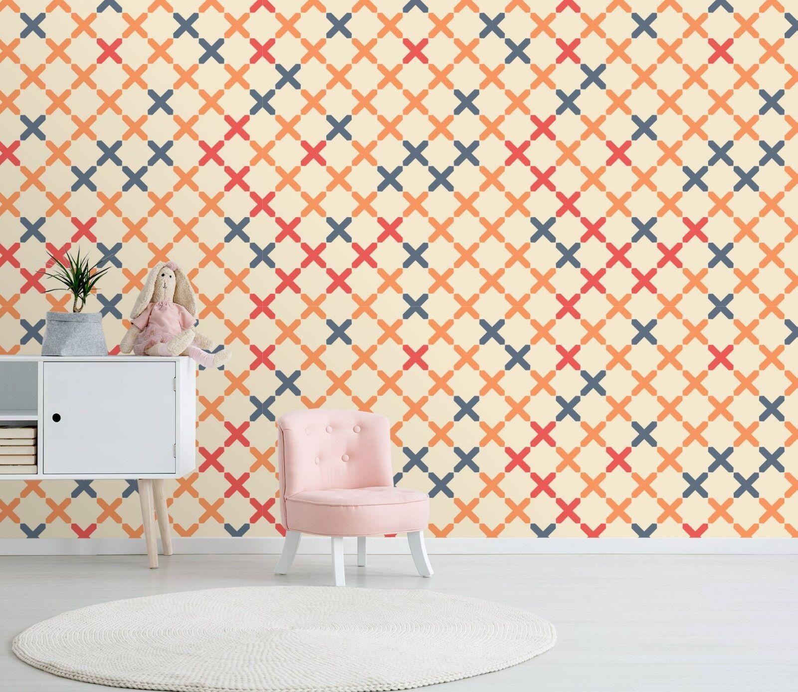 3D Farbe Cross Image 144 Wallpaper Mural Print Wall Indoor Wallpaper Murals UK