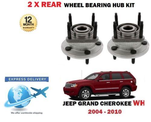 FOR JEEP GRAND CHEROKEE WH 3.0TD 4.7 5.7 2005-2010 2 X REAR WHEEL BEARING HUBS