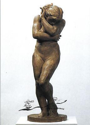 Treu Kunstpostkarte - Auguste Rodin: Eva