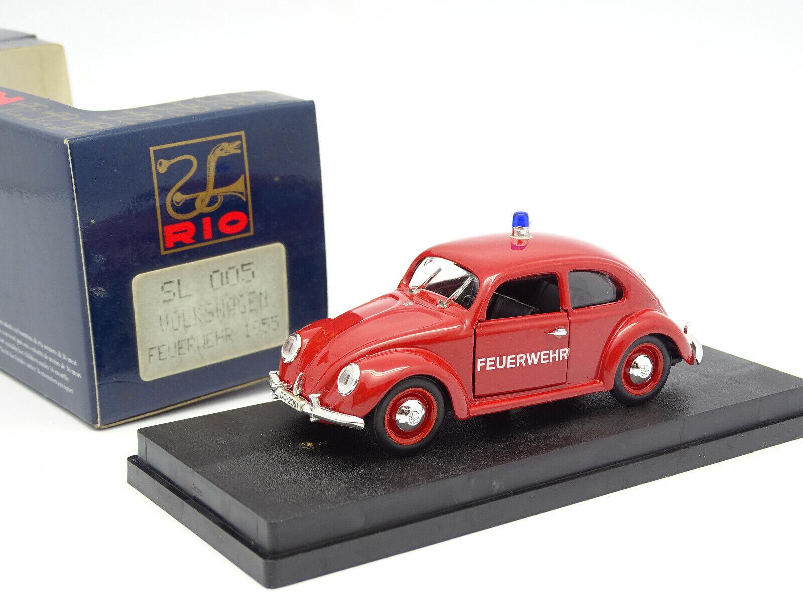 Rio 1 43 - VW Käfer Feuerwehr Feuerwehr 1955