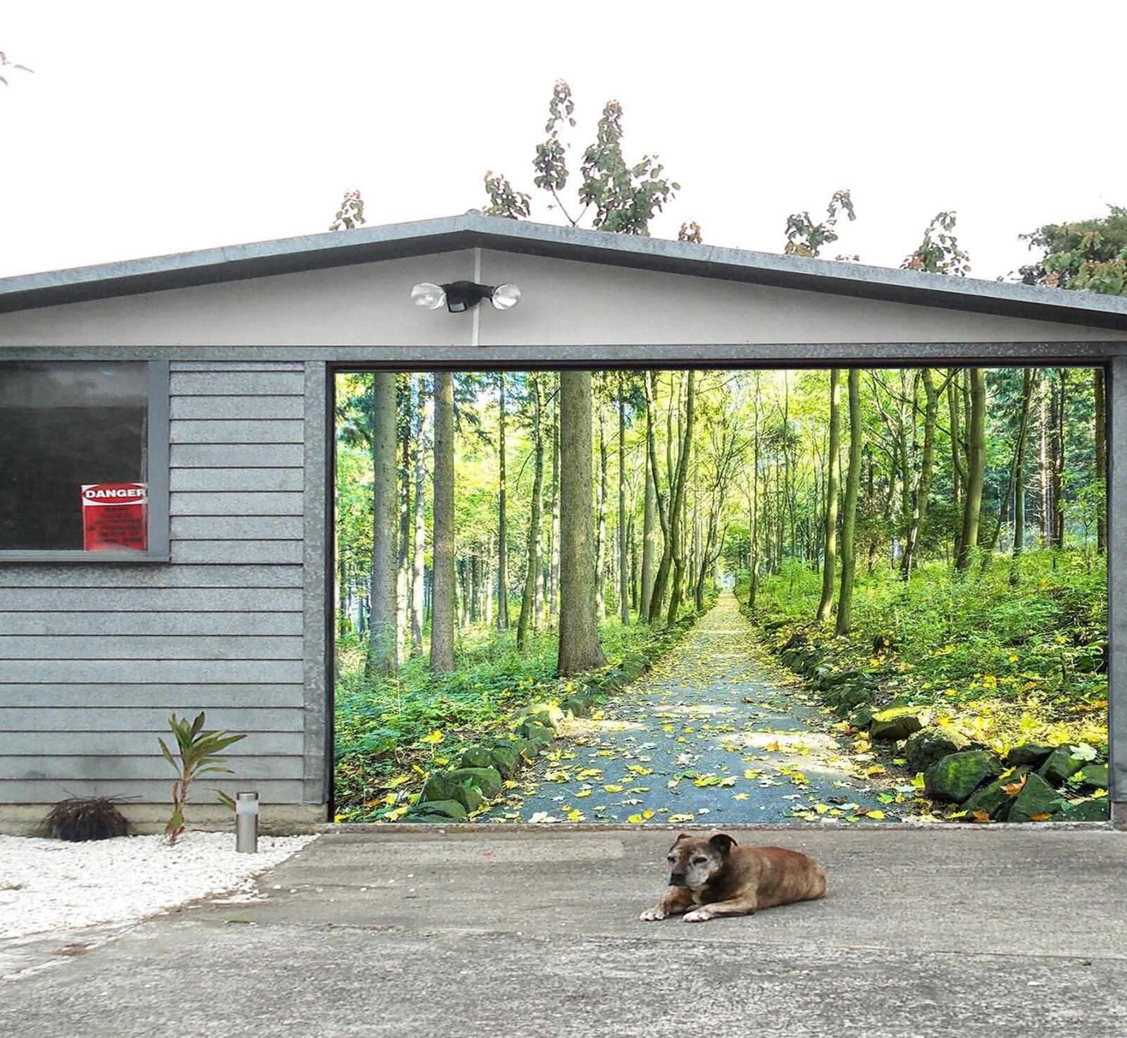 3D Forestale 413 Garage Porta Stampe Parete Decorazione Murale AJ WALLPAPER IT