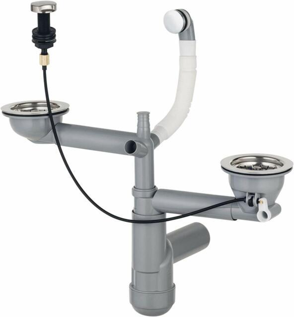 Ablaufgarnitur und Überlaufgarnitur für Schock Spüle Soho N-150 ab 01//2013 Ab
