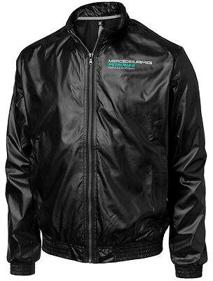 JACKET Lightweight Bomber Formula One 1 Mercedes AMG Petronas F1 NEW! Black