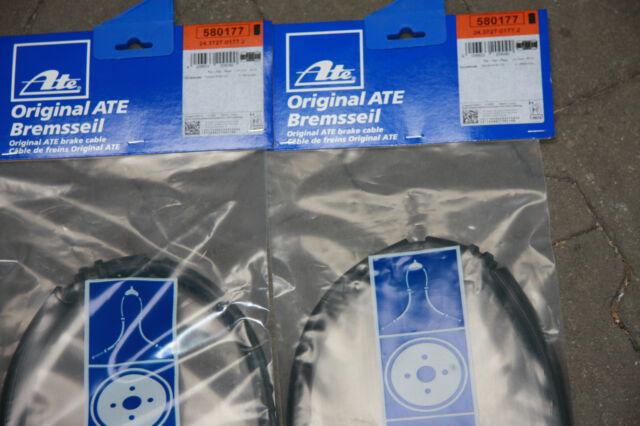 ATE Cable de Freno de Mano Ford Focus II y C-Max Kit Trasero Izquierdo y Derecho