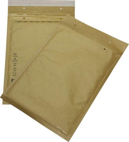 50 St Luftpolsterversandtaschen Gr 6 F braun 240x350 Briefumschläge DIN A4+