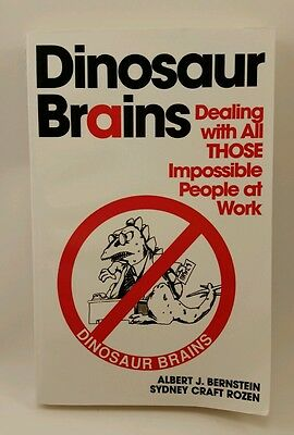 Dinosaur Brains Dealing With All Those Impossible People At Work Bernstein Al Ebay