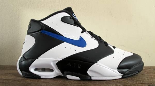 cf9b9a05125 ... Nike Air Up ( black white blue ) sz 10.5 shoes penny 1 pippen air max .  ...