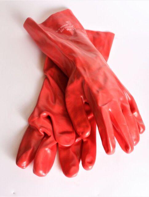 120 Paar Arbeitshandschuhe Gartenhandschuh Handschuhe Montagehandschuh Gr 11 ROT