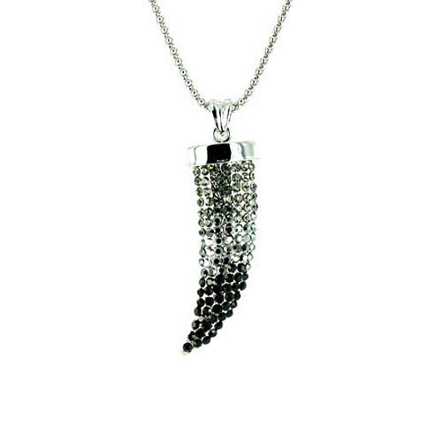 Small Bling Claw Tusk Horn Necklace MORE COLOURS AVAILABLE