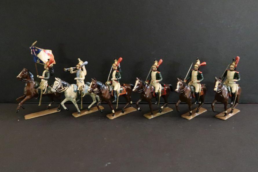 CBG Mignot 6 Caballeros Dragones de la Garde 1809 Soldado De Juguete Napoleón (30)