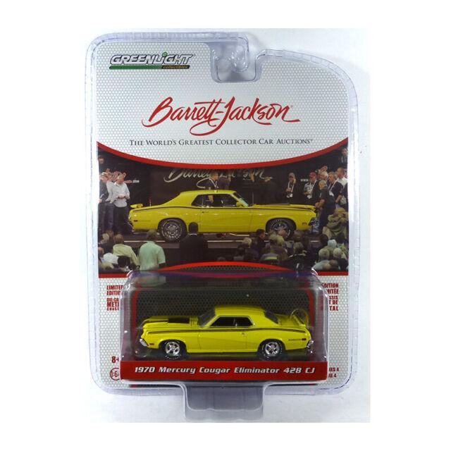 Greenlight 37180-A Mercury Cougar Eliminator 428 CJ - Barrett Jackson 1:64 Nuevo