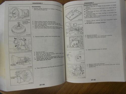 1990 Nissan Van Service Repair Shop Manual OEM FACTORY Book 90