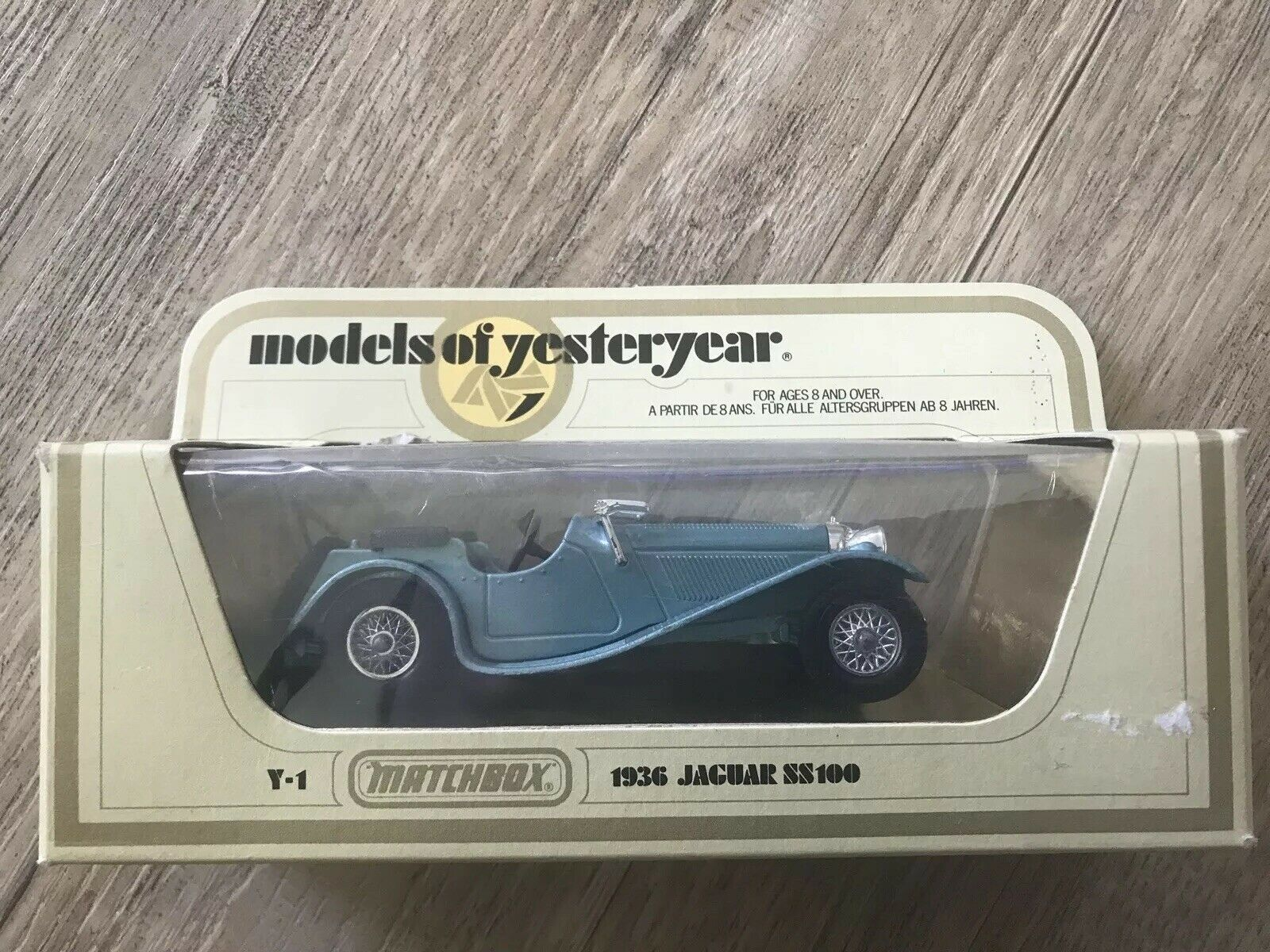 Matchbox models of yesteryear 1936 Jaguar SS 100  OVP Y-1