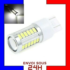 1-Ampoule-33-LED-SMD-T20-7443-W21-5W-Blanc-Xenon-Feux-De-Jour-Recul-Brouillard