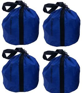 Economy Sand Bag Anchor Bags (with handles) - for Dog Agility Tunnels 4 Bag Set