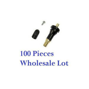 100X TPMS Tire Pressure Sensor Rubber Valve Stems For GMC Cadillac Chevy