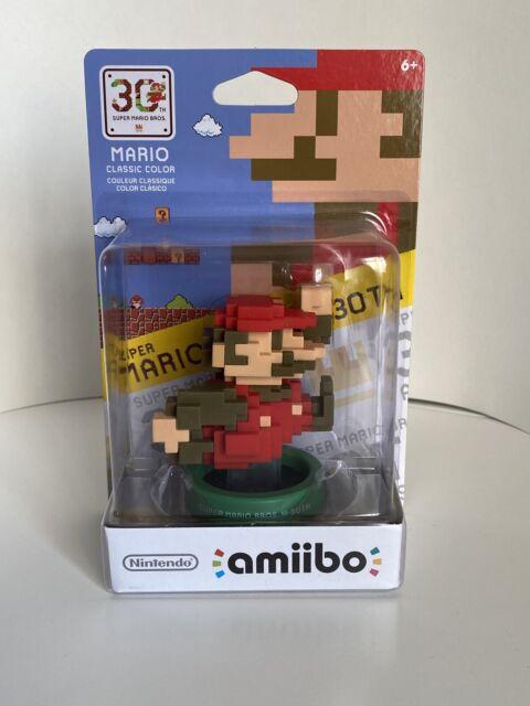 30th Anniversary Series Mario Classic Color 8-bit Amiibo Nintendo New in Box
