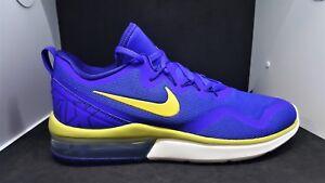 5ba3266ebff Men s Nike Air Max Fury Running Shoes Blue Gold AA5739 402
