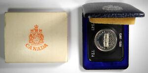 1873-1973-CANADA-PRINCE-EDWARD-ISLAND-SILVER-DOLLAR-IN-ORIG-CASE