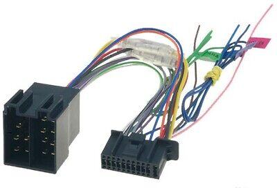 Autoradio ISO Adapter Kabel für Kenwood DMX7017BTS DDX9717BTS