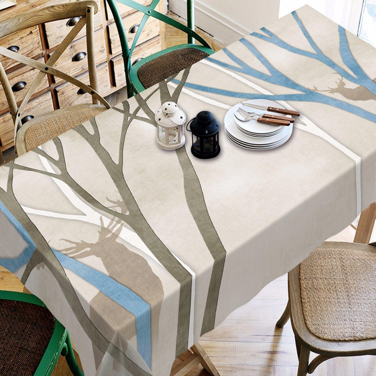 3D Arbres 8970 Nappe Table Cover Cloth Fête D'Anniversaire événement AJ papier peint UK